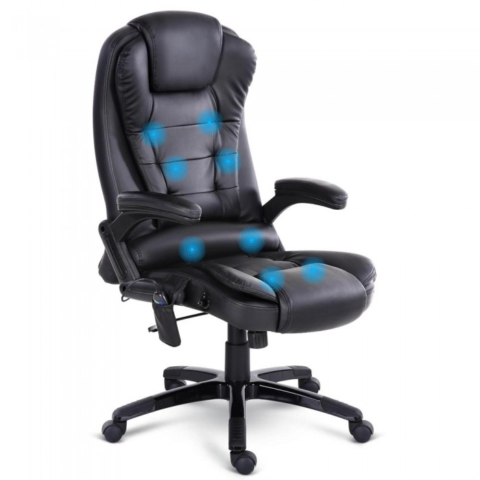 online office furniture 8 point executive office chair black 24048