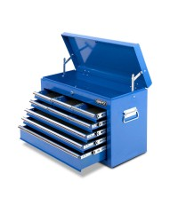 9 Drawers Toolbox - Blue
