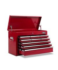 9 Drawers Toolbox - Red