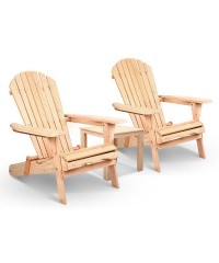 Adirondack Style Table and Chair Set
