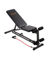 Adjustable FID Bench with Resistance Bands