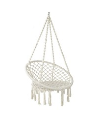 Cream Hammock Swing Chair