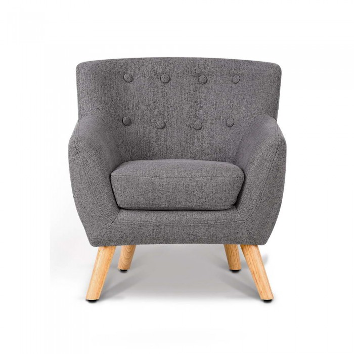 Kids Armchair - Grey