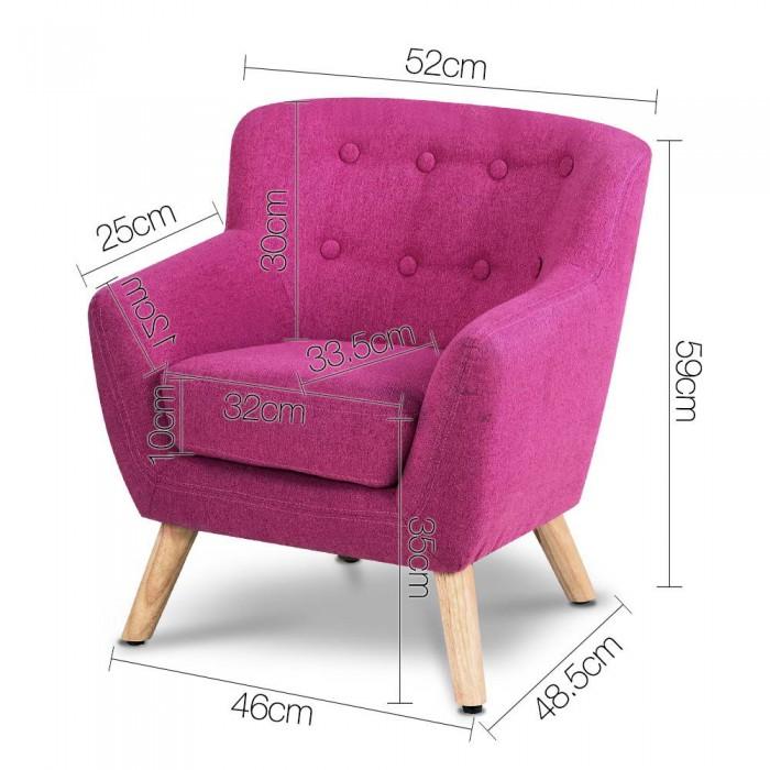 Kids Armchair - Pink