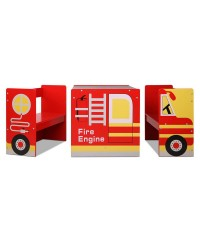 Kids Fire Truck Table and Chair Set