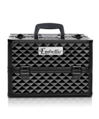 Make Up Cosmetic Beauty Case - Diamond Black