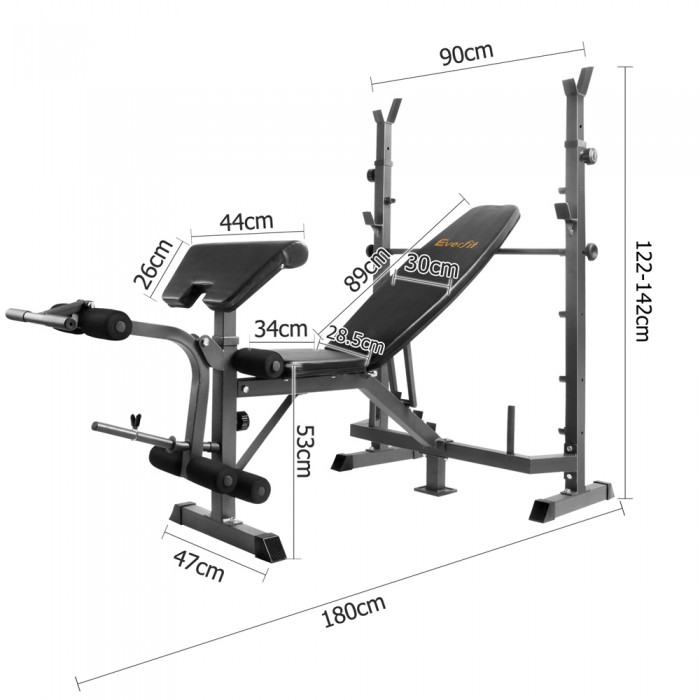 Weight Bench Height Multi Functional Weight Bench