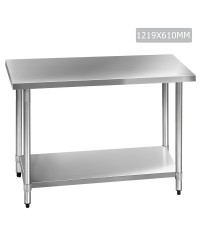 Stainless Steel Bench - 1219mm