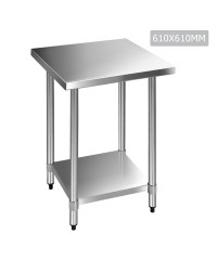 Stainless Steel Bench - 610mm