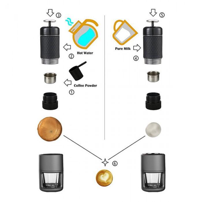 DSZ%20 %20Staresso%20Portable%20Coffee%20Maker%20 %20Pink%203 700x700 Staresso Espresso Coffee Maker Review