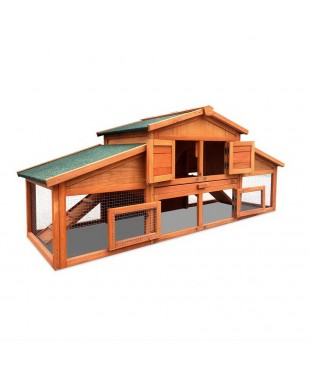 2 Storey Wooden Chicken Coop