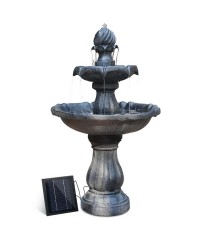 3 Tier Solar Powered Water Fountain