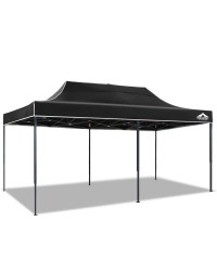 3 x 6M Outdoor Gazebo - Black