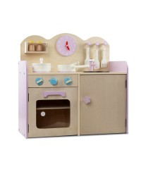 7 Piece Wooden Kitchen Play Set