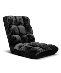 Adjustable Lounge Chair - Black