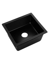 Black Granite Sink - 460 x 410mm