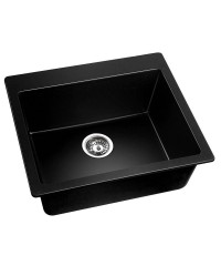 Black Granite Sink - 570 x 500mm