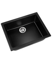 Black Granite Sink - 610 x 470mm