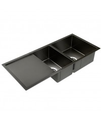 Black Nano Stainless Steel Sink - 1000 x 450mm
