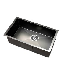Black Nano Stainless Steel Sink - 450 x 300mm