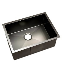 Black Stainless Steel Sink - 600 x  450mm