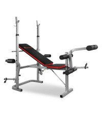 7-in-1 Weight Bench - Grey