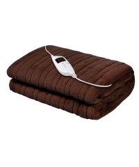Electric Throw Blanket - Chocolate