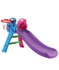 Keezi Kids Slide with Basketball Hoop - Panda