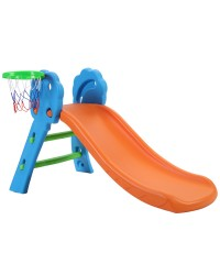 Keezi Kids Slide with Basketball Hoop