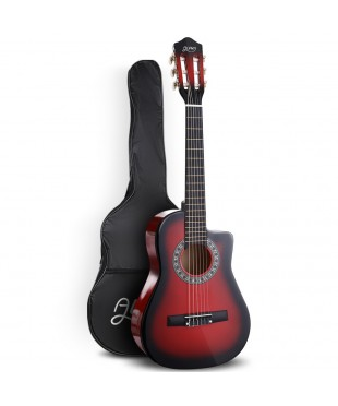ALPHA 34 Inch Guitar - Red