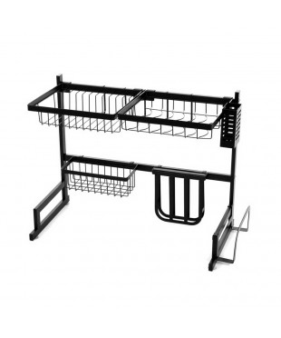 2-Tier 65cm Over Sink Dish Rack