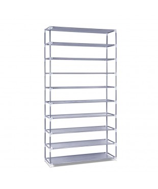 10 Tiers Stackable Shoe Storage Rack