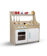 15 Piece Wooden Kitchen Play Set