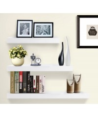 3 pcs Floating Shelf Set - White