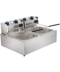 5-Star Chef Double Deep Fryer
