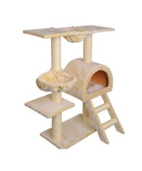 Cat Scratching Pole - Beige