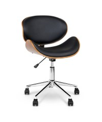 Curved Office Chair - Black