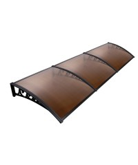 DIY Window Door Awning 3M - Brown