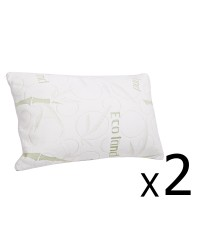 Memory Foam Pillow x 2