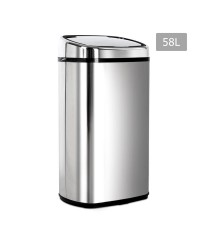Motion Sensor Rubbish Bin - 58L