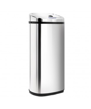 Motion Sensor Rubbish Bin Stainless Steel- 50L