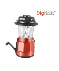 Portable LED Lantern Radio with Built-In Compass