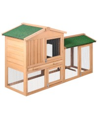 Rabbit Chicken Guinea Pig Pet Bed Hutch