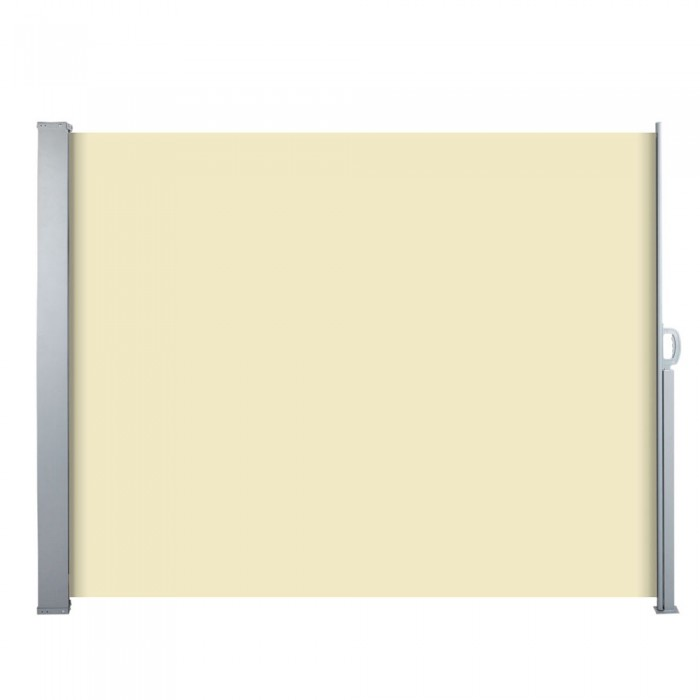 Retractable Side Awning - Beige