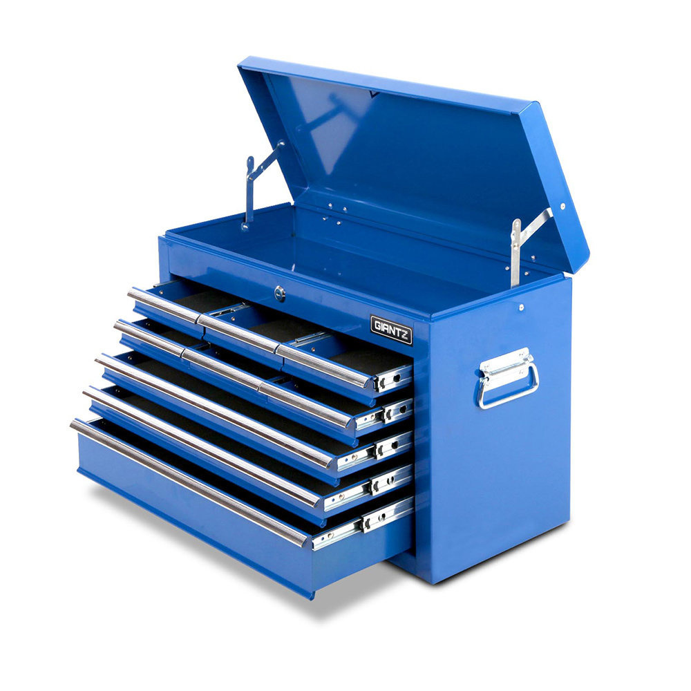 9 Drawers Toolbox Blue