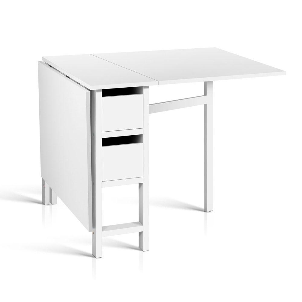 Gateleg dining table - Gateleg table with drawers ...