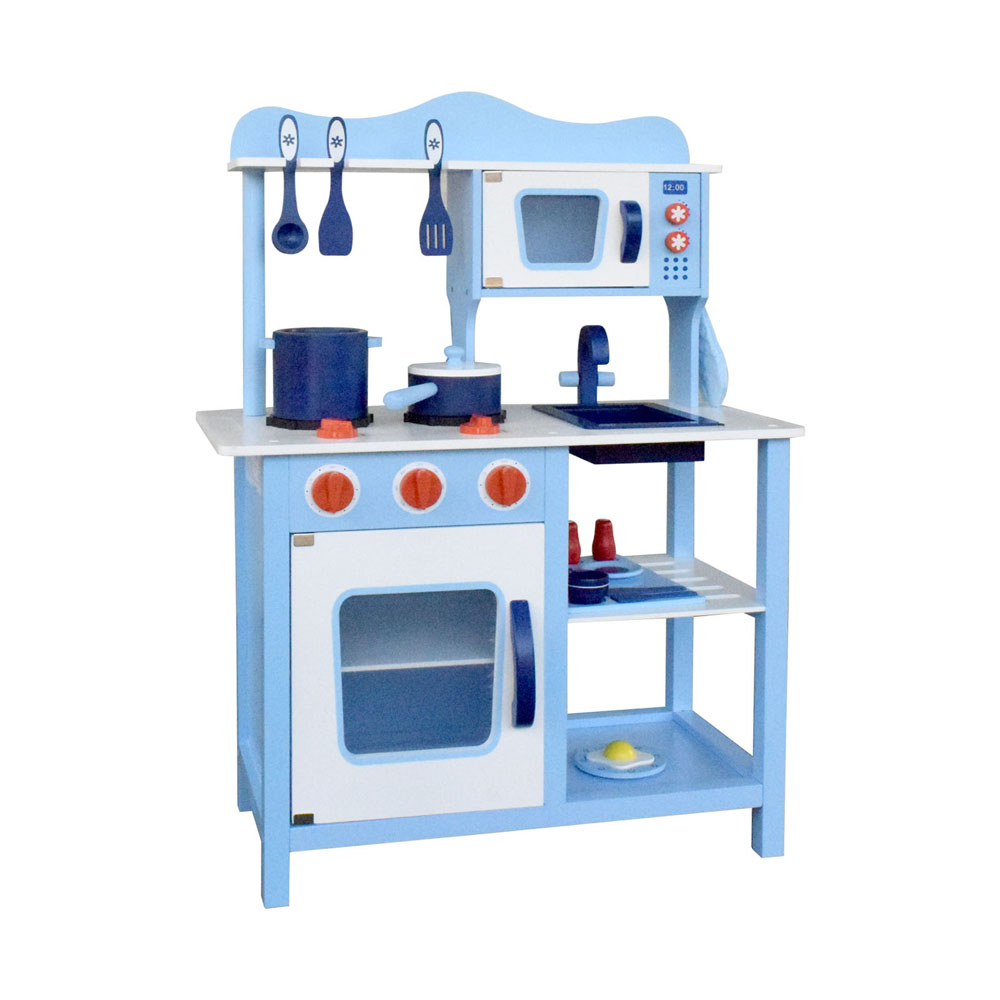 Kids Bedroom Furniture Kids Wooden Toys Online: Children Wooden Kitchen Play Set