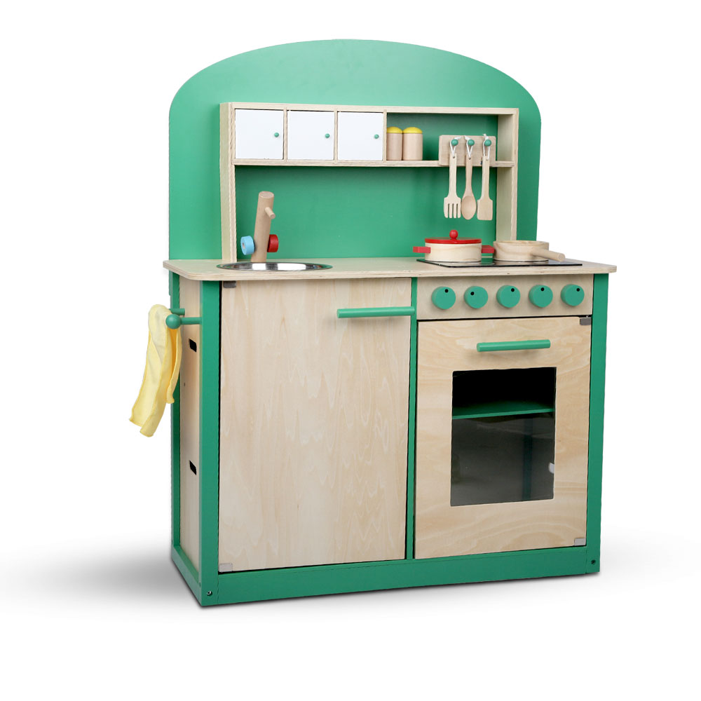 Kids Bedroom Furniture Kids Wooden Toys Online: Children Wooden Play Set Kitchen