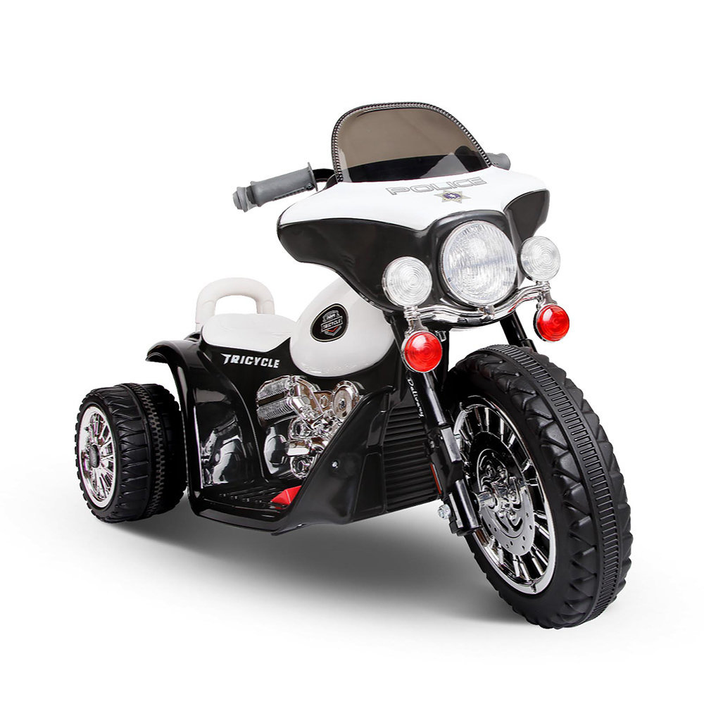 Electric Kids Ride On Police Motorbike Harley