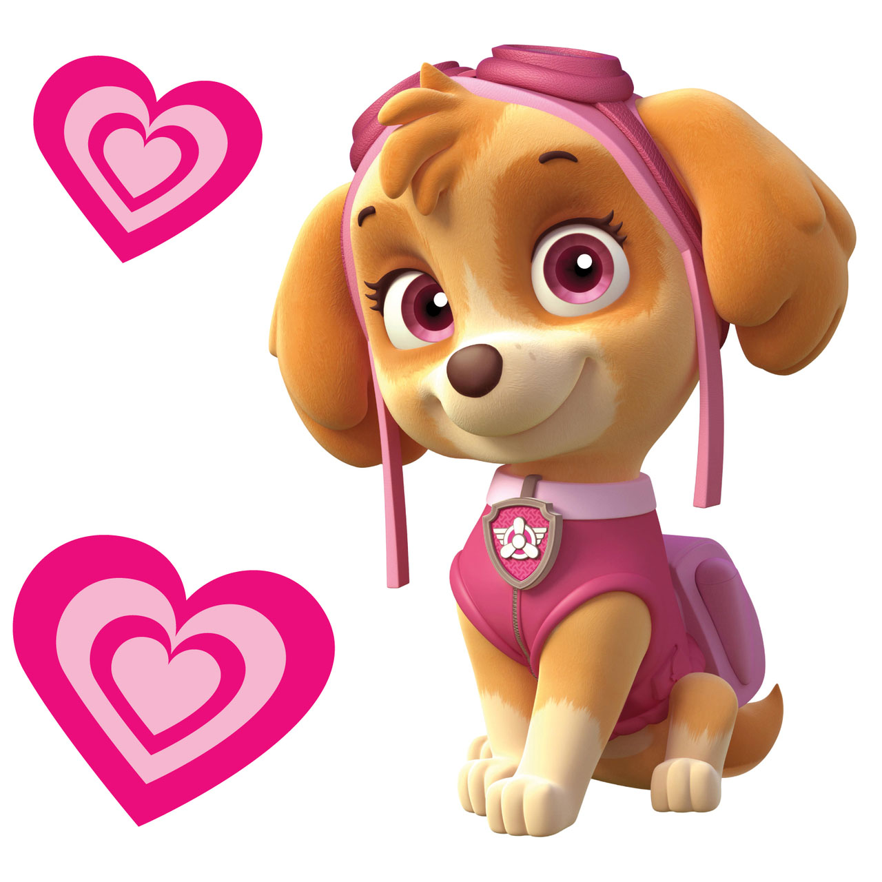 Skye Paw Patrol Wall Sticker X 10